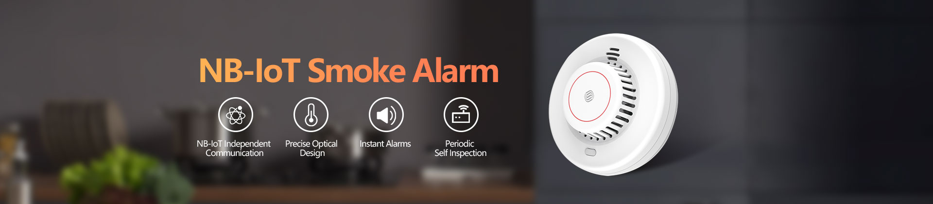 NB-IoT Smoke Alarm